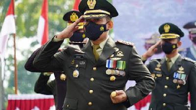 Danrem 071 Wijayakusuma Bersama Forkopimda Banyumas Ikuti Peringatan HUT TNI ke-76