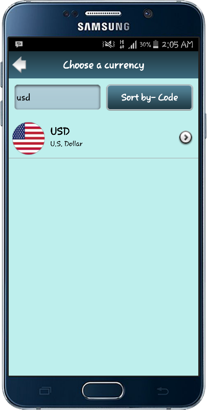 Live Currency Exchange Rates- screenshot
