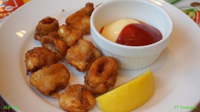 炸章鱼小食
