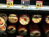 Photo: Hummus is on my list. Sale! Score!
