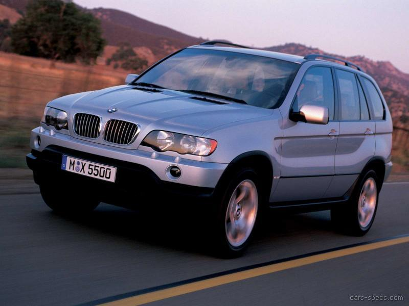 2001 BMW X5 SUV Specifications, Pictures, Prices