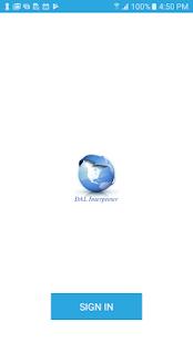 DAL Interpreter - náhled