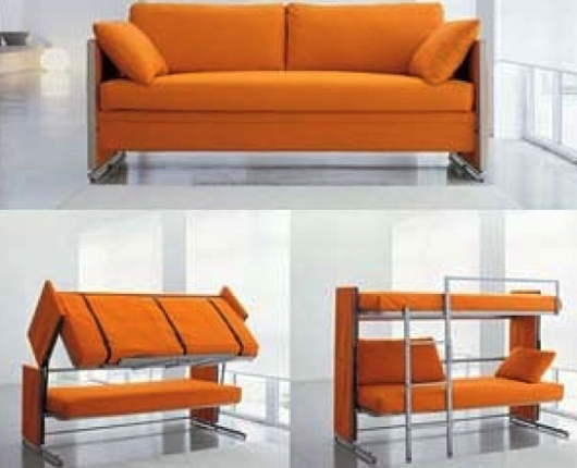 Ideal Awesome couch bunk bed