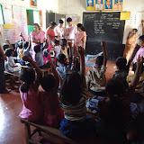 School Kit Distribution at Karala Katte Primary school- 27th June 15