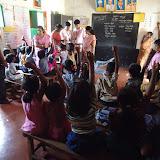 School Kit Distribution at Karala Katte Primary school- 27th June 15