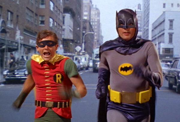 batman vintage robin