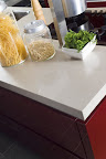 Pure White kitchen worktop