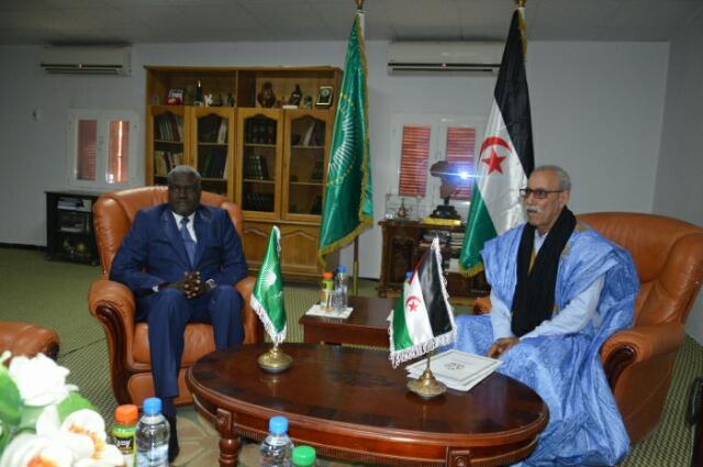 رئيس الجمهورية يستقبل رئيس مفوضية الإتحاد الإفريقي