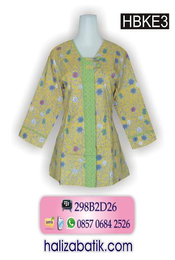 motif batik sederhana, baju muslim murah, desain baju batik wanita,
