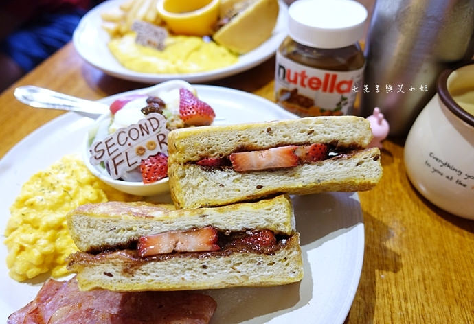 20 貳樓餐廳 Second Floor & Nutella 能多益