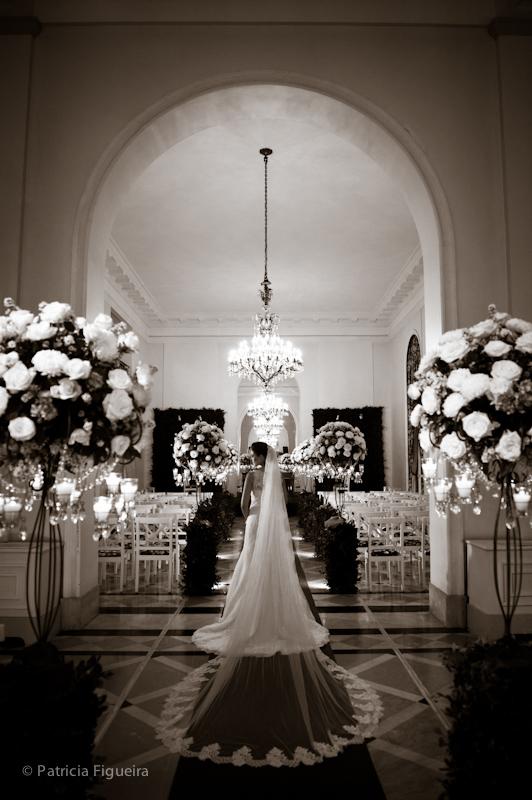 Foto de casamento 0362pb de Natalia e Fabio. Marcações: 30/09/2011, Casamento Natalia e Fabio, Fotos de Vestido, Internovias, Rio de Janeiro, Vestido, Vestido de Noiva.