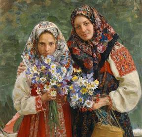 Полевые цветы 1913 (фрагмент)