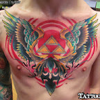 chest - Zelda Tattoos Pictures