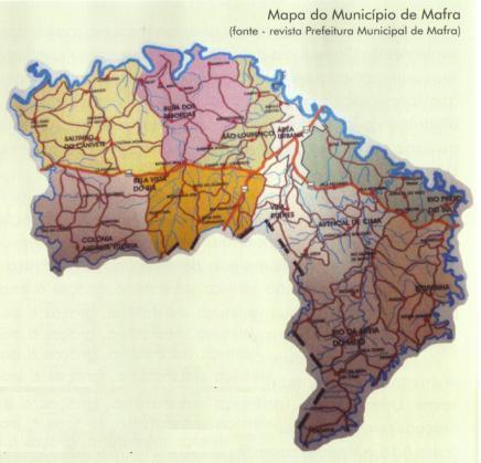 Uma Prefeitura Nova Para A Cidade De Mafra Mapas