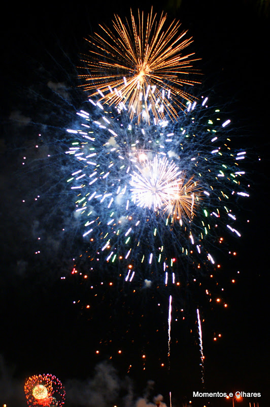 Fogo de artificio em Setúbal