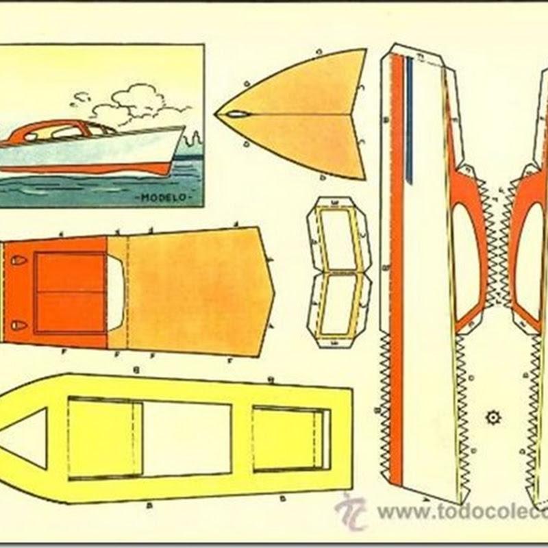 Dibujos de Barcos recortables