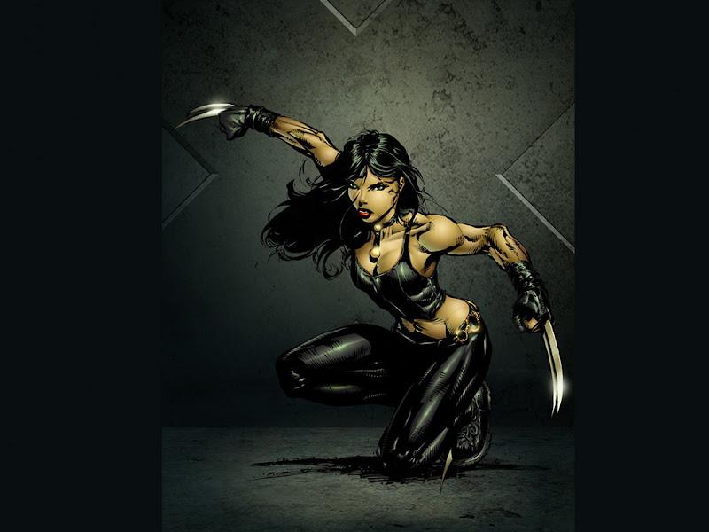 Black Warrior Girl Ninja, Magick Warriors 3