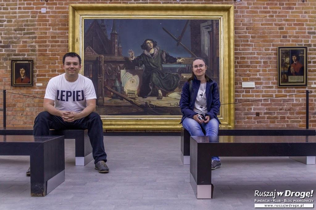 Najbardziej słynne przedstawienie Mikołaja Kopernika w Muzeum we Fromborku