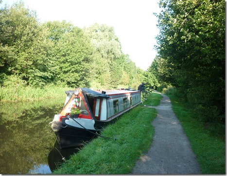 1 mooring above hallam fields