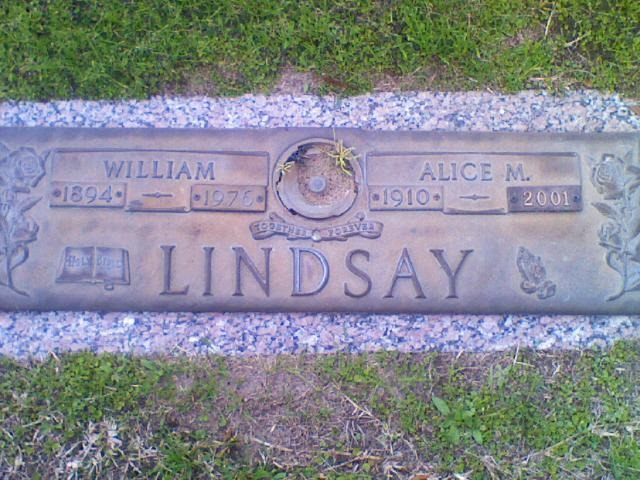 [LINDSAY_William+aka+Bill+and+wife+Alice+headstone_MeadowlawnMemGardens_Florida%5B12%5D]