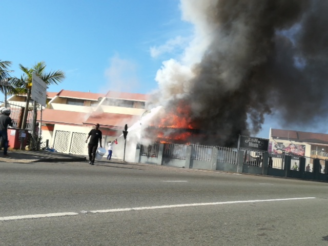 Not a jolly moment as popular Durban butchery Jolly Meats goes up in flames 1
