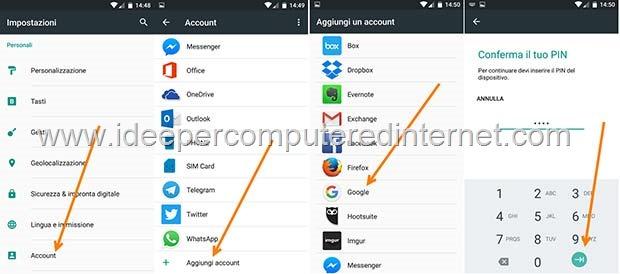 aggiungere-account-google