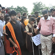 Ram Charan at Devnar World Sight Day Walk Event
