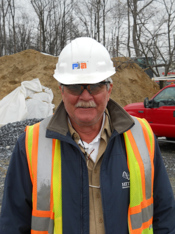 Tony Higgins, our site superintendent
