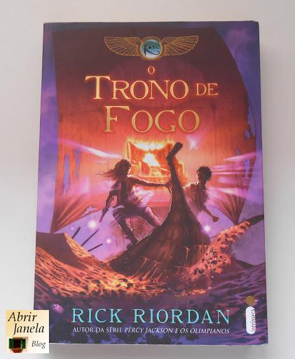 Livro O Trono de Fogo