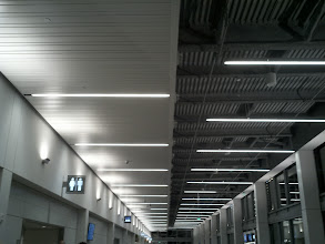 Photo: Heading out from the new concourse at Long Beach airport on my overnight flight to Boston.