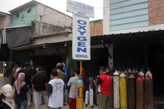 Melonjaknya Kasus Covid-19 di Indonesia Disorot Media Asing