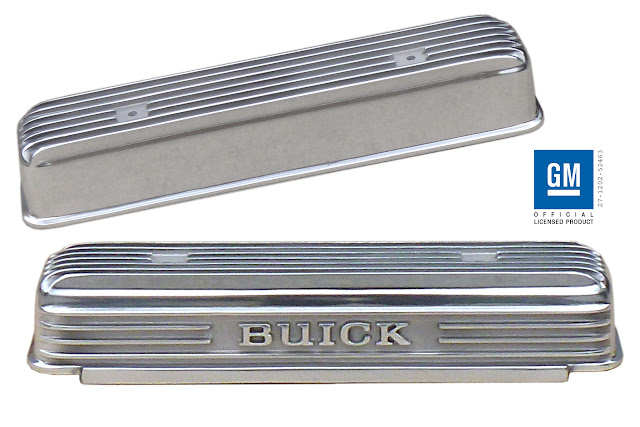 Beautiful polished nailhead valve covers Fits all 264-322-364-425. 455.00 plus 20.00 Shipping