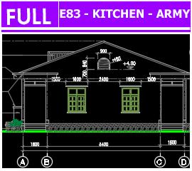 Hồ sơ bếp ăn E83 - Army