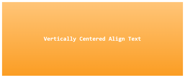 Vertically Center Align Text display table