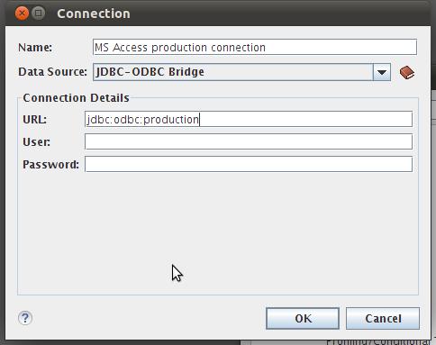 JDBC-ODBC Bridge Issues