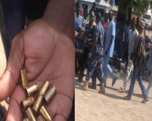 Custom Officers Fire Warning Shots, Arrest TV3 Journalist At Paga Border