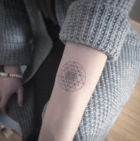 Este incrível projeto geométrico