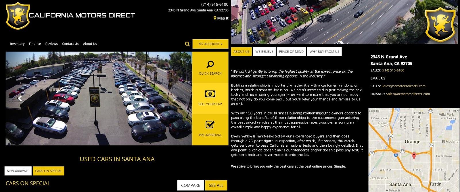 Car2TW建議千萬不要向這家在加州洛杉磯的黑心詐騙車商買車喔