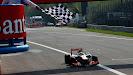 Lewis Hamilton wins the 2012 F1 GP of Italy