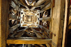 Inside the St. Mary's tower