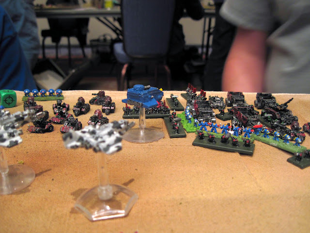 Marines take the fight to the Orks.