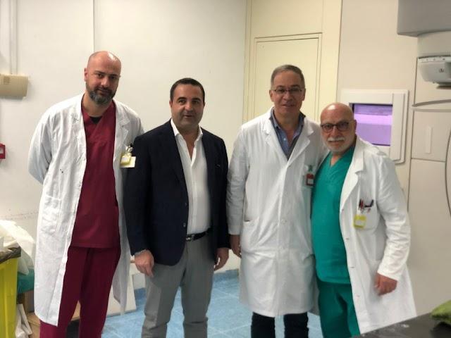 """Cannizzaro visita Radioterapia e Oncologia degli Ospedali Riuniti: """"eccellenze straordinarie, Sanità calabrese ripartirà da qui"""""""