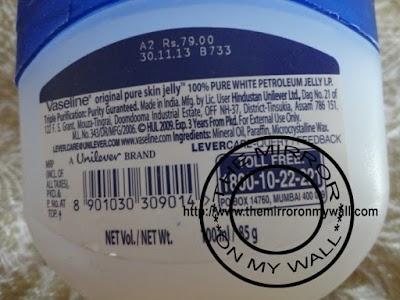 Vaseline Pure Skin Jelly Original 3.JPG