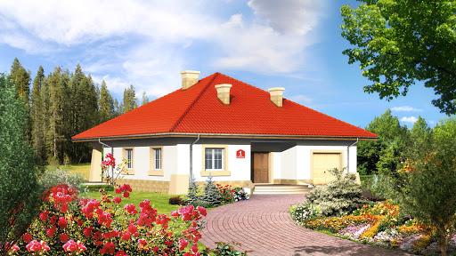 projekt Dom przy Rubinowej