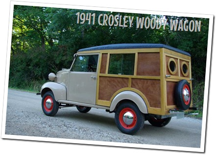 1941 Crosley woody wagon - autodimerda.it