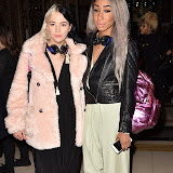 OIC - ENTSIMAGES.COM -  DJ Duo The Glitter Beats  at the  LFW a/w 2016: Ashley Isham - catwalk show in London 20th february 2016 Photo Mobis Photos/OIC 0203 174 1069