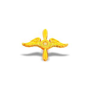 Емблема Повітряні Сили  2018 золота