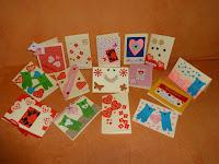 kartki dla dzieci w szpitalu onkologicznym w Lublinie z okazji walentynek