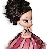 19. kép: Formatorták (lányoknak) - Nagy szemű baba torta