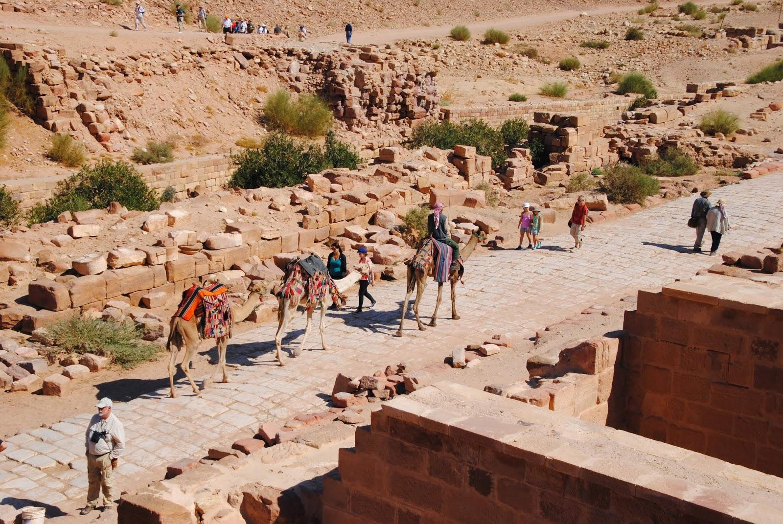 My Photos: Jordan -- Petra -- Colonnaded Street & Great Temple